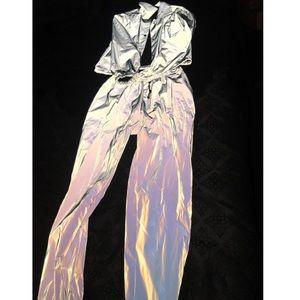 Reflective jacket and pants